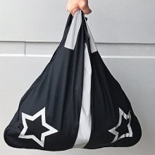 Reflexbärkasse Bright Bag Svart